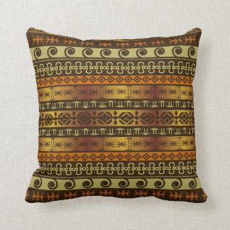african print pillow