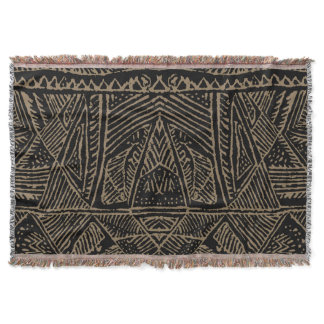 African Print Throw
