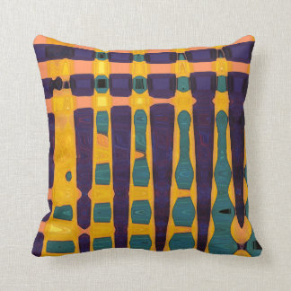 African Print Throw Pillow