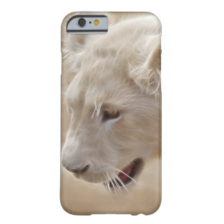 African prowling white lion barely there iPhone 6 case