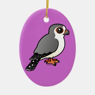 African Pygmy Falcon Ceramic Ornament