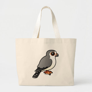 African Pygmy Falcon Large Tote Bag