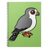 African Pygmy Falcon Photo Notebook (6.5