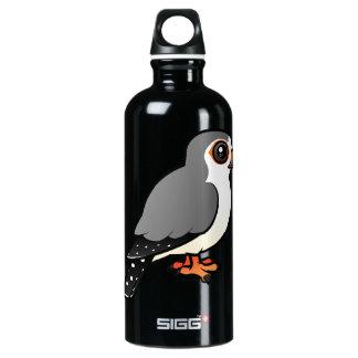 African Pygmy Falcon Water Bottle