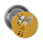African Pygmy Goat Pin