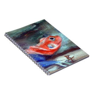 African Rainbow Lizard Spiral Notebook