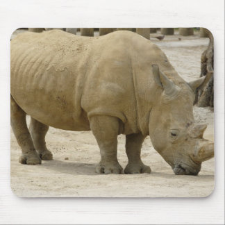 African Rhinoceros Mouse Pad