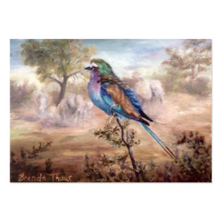 African Roller Large Business Cards (Pack Of 100)