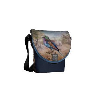 African Roller Messenger Bags