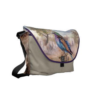 African Roller Courier Bags
