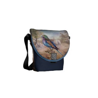 African Roller Mini Messenger Bag