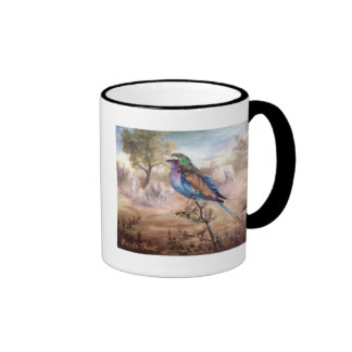 African Roller Ringer Coffee Mug