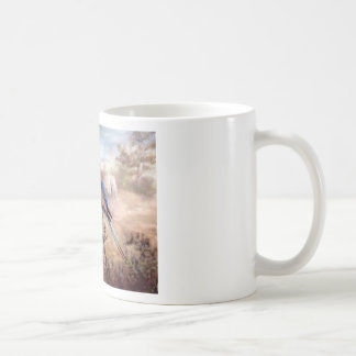 African Roller Classic White Coffee Mug