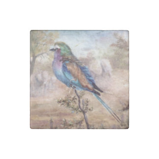 African Roller Stone Magnet