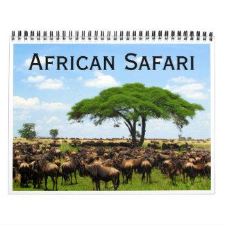 african safari 2018 calendar