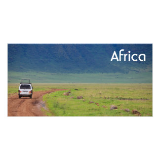 African safari card