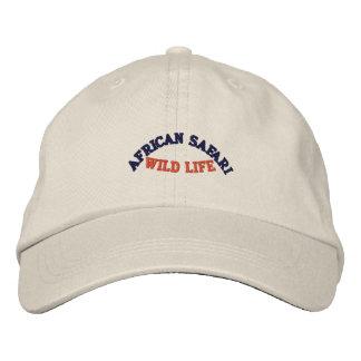 AFRICAN SAFARI BASEBALL CAP