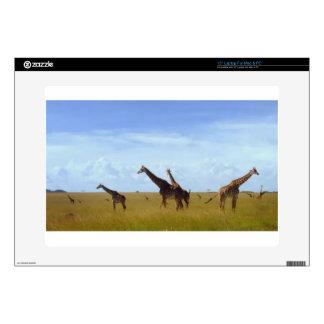 African Safari Giraffes Beautiful amazing cute Skin For Laptop