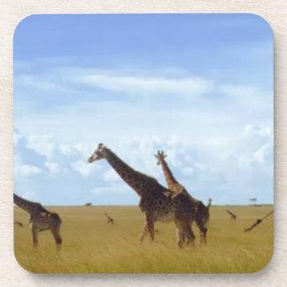 African Safari Giraffes Coaster