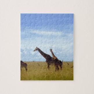 African Safari Giraffes Jigsaw Puzzle