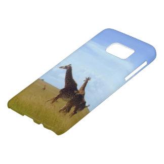 African Safari Giraffes Samsung Galaxy S7 Case