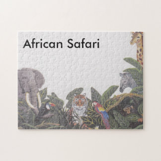 African Safari Jig Jaw Puzzle