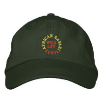 AFRICAN SAFARI, KENYA EMBROIDERED BASEBALL CAP