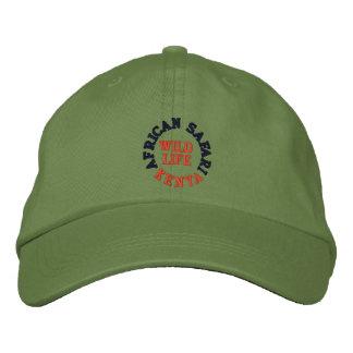 AFRICAN SAFARI, KENYA EMBROIDERED BASEBALL CAP