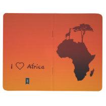 African Safari Map - Pocket Journal