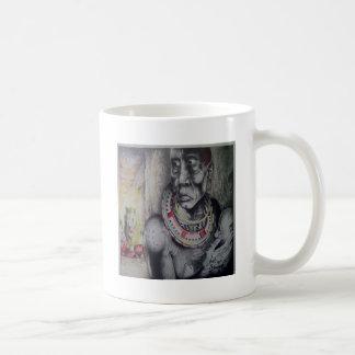 African Safari Masai tribe mug