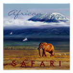 African Safari Print