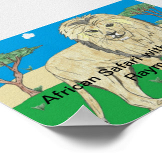 African Safari with Ted and Raymond Poster