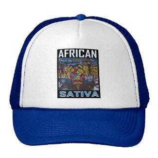 AFRICAN SATIVA MESH HAT