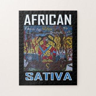 AFRICAN SATIVA PUZZLES