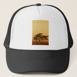 African Savanna Tree Trucker Hat