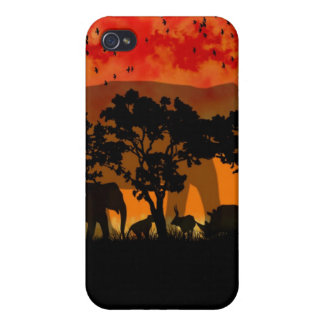African Scenery i iPhone 4 Covers