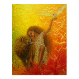 """African Secret"" Postcard"