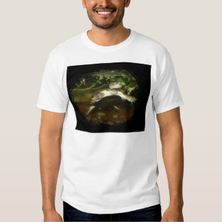 African Side Necked Turtle Photograph Tshirts