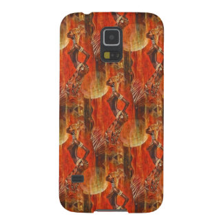 African Silhouette Case For Galaxy S5