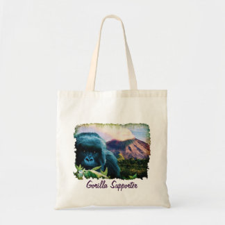 African Silverback Mountain Gorilla Tote Bag