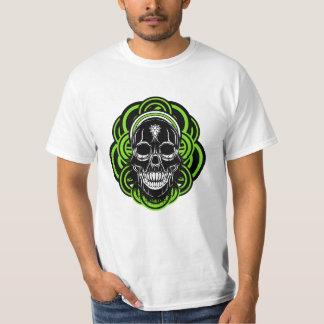 African_skull Playera