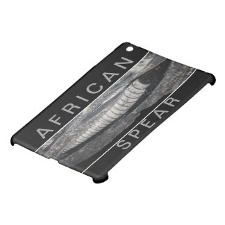 AFRICAN SPEAR       ARTIFACT IPHONE MINI CASE COVER FOR THE iPad MINI