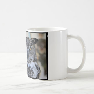 African Spotted Eagle Owl Coffee Mug