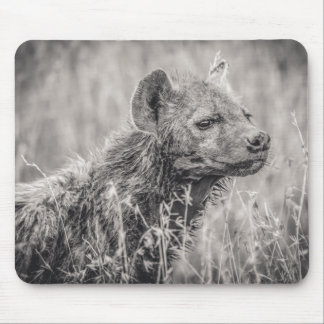 African Spotted Hyena Mouse Pad