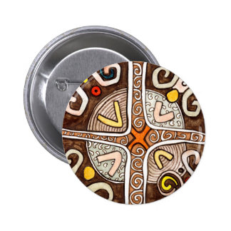 African Style Button