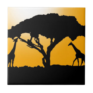 African Style Ceramic Tile