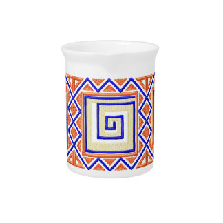African Style Pitcher