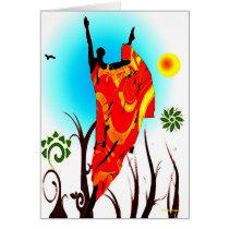 African Summer Dance Card