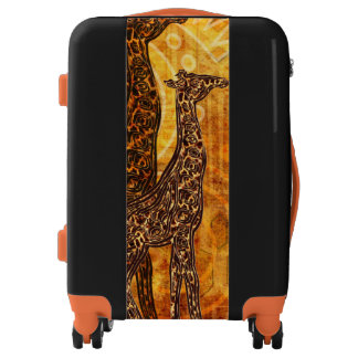 African Summer Giraffes + your ideas Luggage