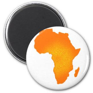 African Sun 2 Inch Round Magnet